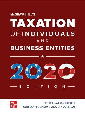 Is Home Equity Interest Deductible In 2020.Mcgraw Hill S Taxation Of Individuals And Business Entities 2020 Edition 11th Ed Krisostomus