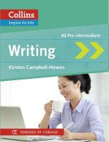 Collins English for Life: Skills - Writing