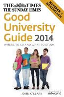 Times Good University Guide: Where to Go and What to Study 2014