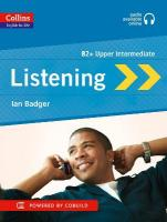 Collins English for Life: Listening B2, B2