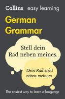 Easy Learning German Grammar 4th Revised edition, Easy Learning German Grammar