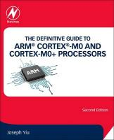 Definitive Guide to ARM (R) Cortex (R)-M0 and Cortex-M0plus Processors 2nd edition
