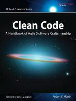 Clean Code: A Handbook of Agile Software Craftsmanship illustrated edition