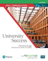 University Success Oral Communication Advanced, Student Book with MyLab   English