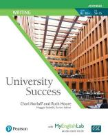 University Success Writing Advanced, Student Book with MyLab English