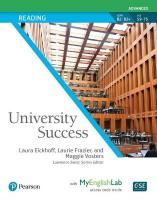 University Success Reading Advanced, Student Book with MyLab English