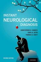 Instant Neurological Diagnosis 2nd Revised edition