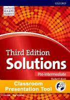 Solutions: Pre-Intermediate: Classroom Presentation Tool: Leading the way to success 3rd Revised edition