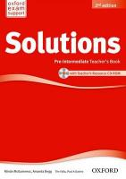 Solutions: Pre-Intermediate: Teacher's Book and CD-ROM Pack 2nd Revised edition