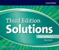 Solutions: Elementary: Class Audio CDs 3rd Revised edition