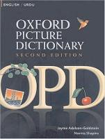 Oxford Picture Dictionary Second Edition: English-Urdu Edition: Bilingual Dictionary for Urdu-speaking teenage and adult students of English 2nd Revised edition