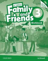 Family and Friends: Level 3: Workbook with Online Practice 2nd Revised edition, Level 3
