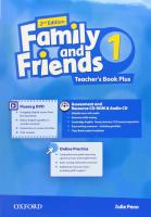 Family and Friends: Level 1: Teacher's Book Plus 2nd Revised edition, Level 1