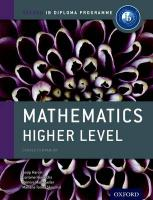 IB Mathematics Higher Level Course Book: Oxford IB Diploma Programme: For the Ib Diploma