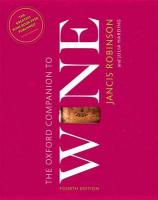 Oxford Companion to Wine 4th Revised edition