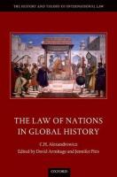 Law of Nations in Global History