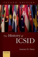 History of ICSID 2nd Revised edition