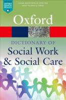 Dictionary of Social Work and Social Care 2nd Revised edition