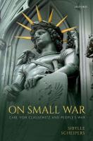 On Small War: Carl von Clausewitz and People's War