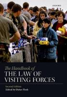 Handbook of the Law of Visiting Forces 2nd Revised edition