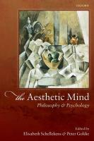 Aesthetic Mind: Philosophy and Psychology: Philosophy and Psychology