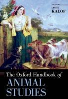 Oxford Handbook of Animal Studies