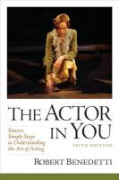 Actor In You: Sixteen Simple Steps to Understanding the Art of Acting 5th edition