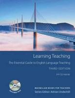 Learning Teaching 3rd Edition Student's Book Pack: 3rd Edition Student's Book Pack 3rd edition
