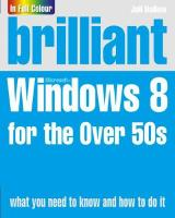 Brilliant Windows 8 for the Over 50s