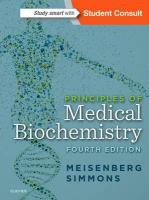 Principles of Medical Biochemistry 4th Revised edition