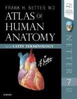 Atlas of Human Anatomy: Latin Terminology: English and Latin Edition 7th Revised edition