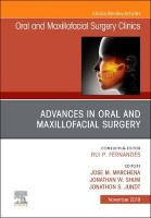 Advances in Oral and Maxillofacial Surgery