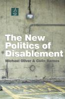 New Politics of Disablement 2nd ed. 2012
