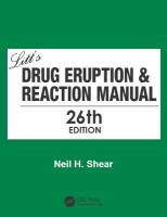 Litt's Drug Eruption & Reaction Manual 26E