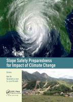 Slope Safety Preparedness for Impact of Climate Change