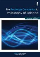 Routledge Companion to Philosophy of Science 2nd New edition