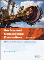 Surface and Underground Excavations: Methods, Techniques and Equipment 2nd New edition