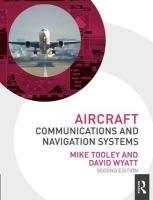 Aircraft Communications and Navigation Systems, 2nd ed 2nd New edition