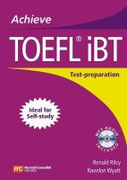 Achieve TOEFL (R) iBT: Student Book with Audio CD: Test-Preparation Guide Student edition