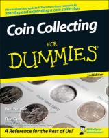 Coin Collecting For Dummies 2nd Revised edition