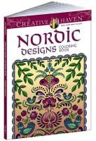 Creative Haven Nordic Designs Collection Coloring Book