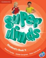 Super Minds Level 4 Student's Book with DVD-ROM Student edition