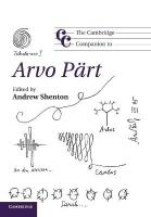 Cambridge Companion to Arvo Part, The Cambridge Companion to Arvo Part