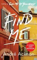 Find Me: A TOP TEN SUNDAY TIMES BESTSELLER Main