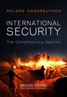 International Security: The Contemporary Agenda 2nd Edition