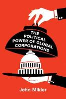 Political Power of Global Corporations