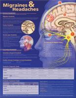 Migraines and Headaches Anatomical Chart 2nd edition