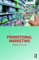 Promotional Marketing: Second Edition 2nd New edition