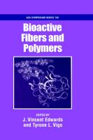 Bioactive Fibers and Polymers illustrated edition