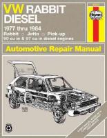 Volkswagen Rabbit Diesel 1977-84, Rabbit, Jetta Pick-up Owner's Workshop   Manual Revised edition